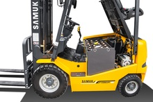 Samuk 3.5ton Battery Forklift Pallet with ZAPI AC system