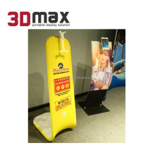 3D MAX Ipad Magzine Stand Advertising Anti-theft Holder for Tablet
