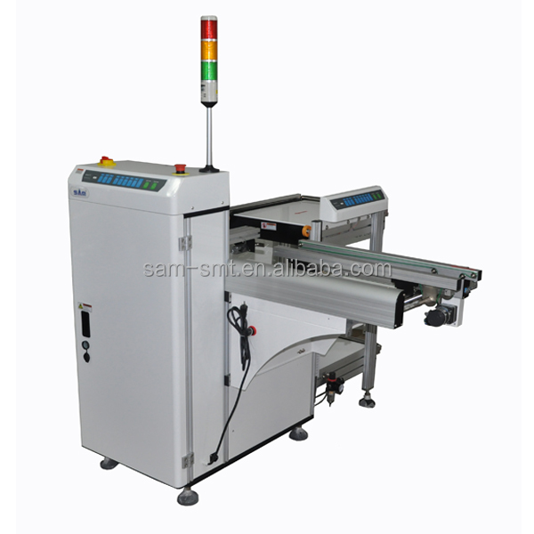Automatic L Type PCB Magazine Un-loader for SMT Production line , Good quality PCB Handling Equipment manufacturer