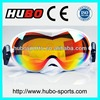 HUBO latest best selling protection adult snowboard goggles with CE standard