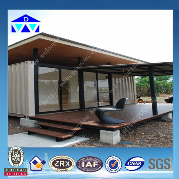 Hight Quality Prefab Living Container House From Weidu Company