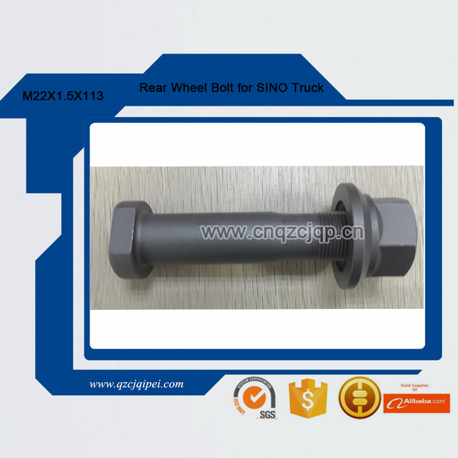 Rear Wheel Bolt for SINO Truck