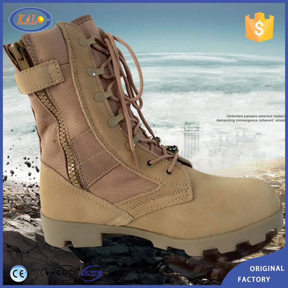 Wholesale Cheap Combat Army Desert Ankle Rubber Men Boots Military