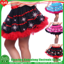 Rainbow Colorful Led Colorful Lighting Skirt Dress