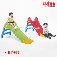 2015 New Style Children Kids Indoor Outdoor Slide Plastic Playground Slide For Sale