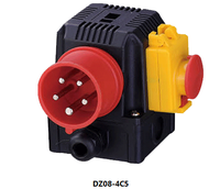 high quality europe type electromagnetic switch/protection function manufacturer DZ08-4C5