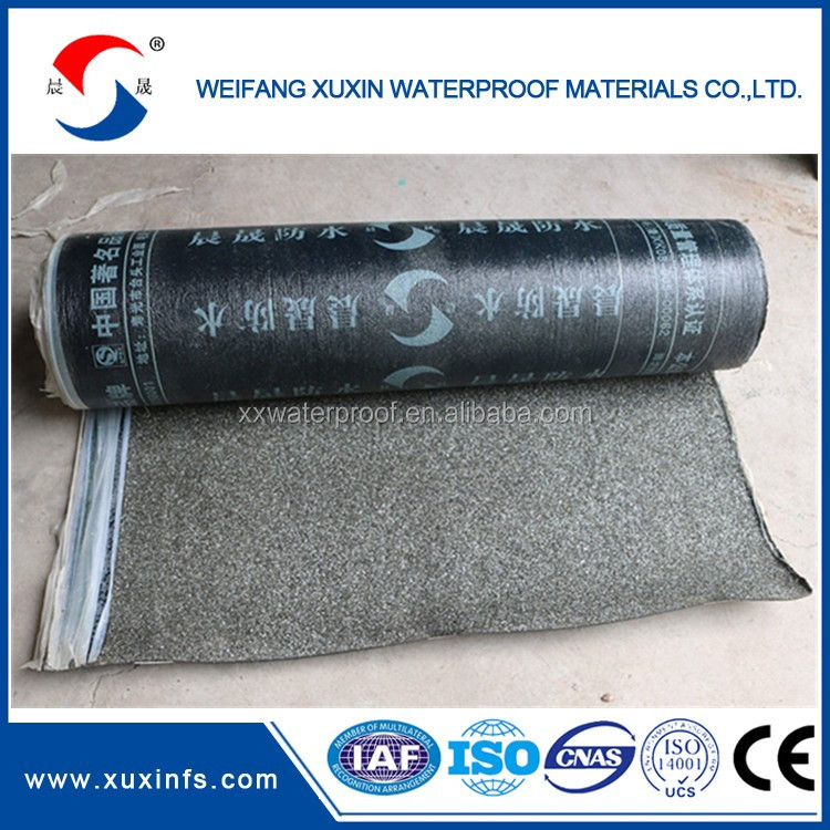 Torching 1m x 10m Bituminous waterproof membrane for roof