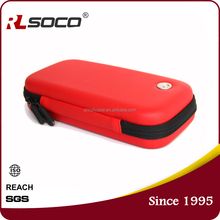 RL custom made colorful ego carrying case for E Cigarette with small size Accessories and net pocket Inside