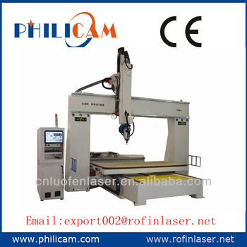 HOT HOT HOT SALE!!!GOOD QUALITY!!! the best quality and low price PHILICAM 3d cnc wood carving router