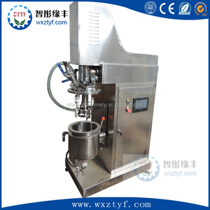 5L Lab cream vacuum emulsifying mixer 10L Cream Emulsion mixing manufacture machine
