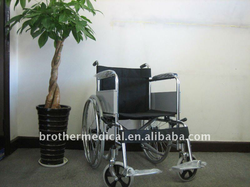 Chrom Plated Economical Wheelchair Best Price in 2017