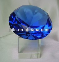 large K9 faces polished crystal diamond lower price high quality blue