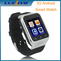 LUCKY8 Android 3G Smart Watch phone Dual core 5.0M Camera 3G WIFI GPS SmartWatch WCDMA GSM Bluetooth 4.0 Smart Watch