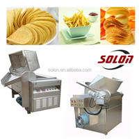 Professional widely used machine to make potato chips / Fried food processing machine