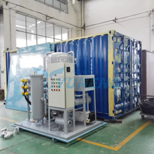New Technology Demulsification Lubrication Oil Refining Purifier Unit