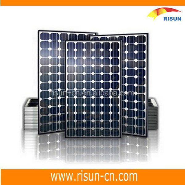 High Efficiency 156mmX156mm Mono Solar Cell Panel A Grade 180W