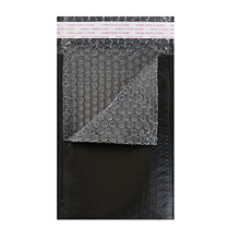 Plastic Padded Air Envelopes Black Bubble Lined WHITE A5 170X245mm STG 4 Bubble Padded Mailers Cheap