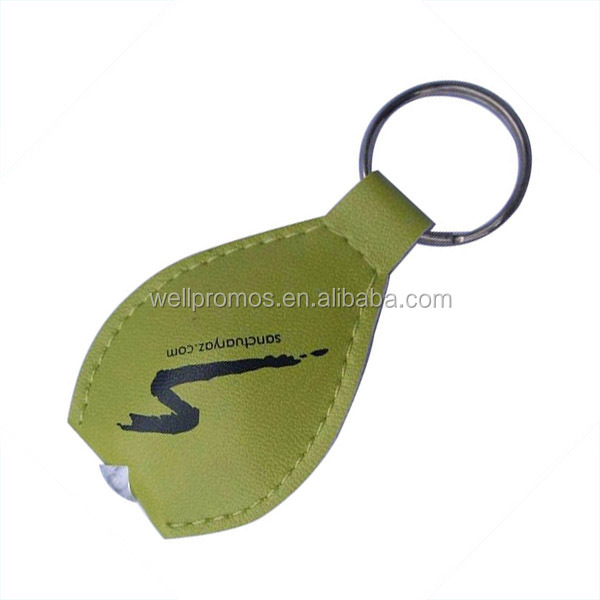 pvc keychain promotional gift with light