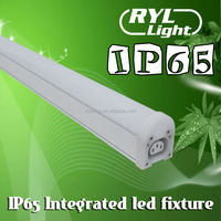Max 40pcs Gapless Interconnection- IP65 Waterproof Square linear LED Supermarket Lighting