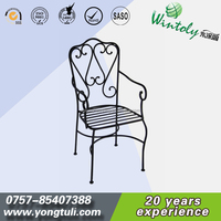 Outdoor metal furniture spray polyester powder coatings