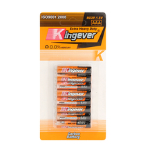 Kingever brand zinc carbon cheap 1.5v R03 AAA UM-4 dry cell battery