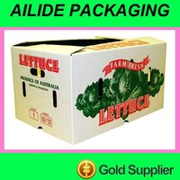 vegetable fruits Packaging carton boxes price list