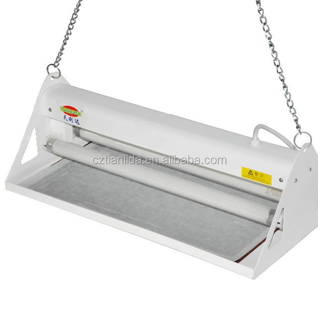 Indoor Fly Stop UV Trap Lamp With Glue Board Pest Control Unit
