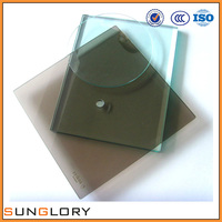 8mm 10mm 12mm 15mm 19mm safety tempered glass polished edge , Tempered Glass Cut to Size