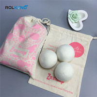 wool dryer ball in high quality 6 pcs in one pack