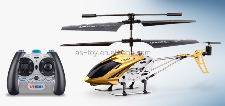 High Quality Metal Body 3-Channels Pro Helicopter
