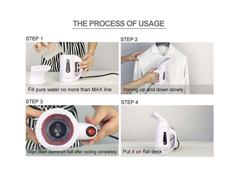 Christmas Hot Selling New Product Garment Fabric Steamer Chinese Supplier Portable Garment Steamer/Mini Fabric Steamer
