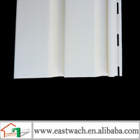 Plastic fiber cement siding board exterior wall cover panel
