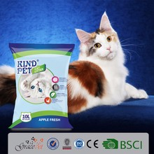 Wholesale cat litter bulk bad easy to clean cat sand