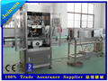 stainless steel automatic shrink labeling sleeving machine