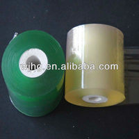 Super Clear PVC Stretch Plastic Film(Plastic Tube Core)