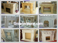 Indoor Used Marble Fireplaces