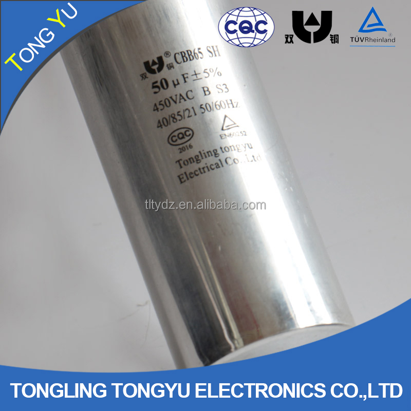 China CBB65 ac capacitor