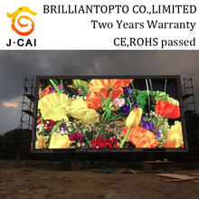 2017 Short time delivery amazing quality full color P6 giant display outdoor led screen price