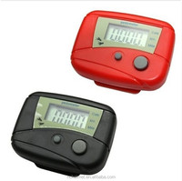 2pcs Black LCD Pedometer Step Calorie Counter Walking Distance Sport Pedometer