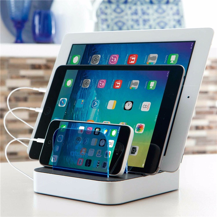 Amazon best selling 3 ports mibile cellphone charging station usb hub fast charging station