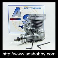 ASP 52HR 2 Stroke/Two Strokes Nitro Engine for RC Helicopter