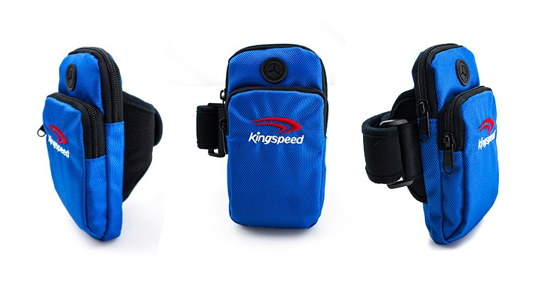 Outdoor Sports Bike Running Polyester Arm Phone Bag