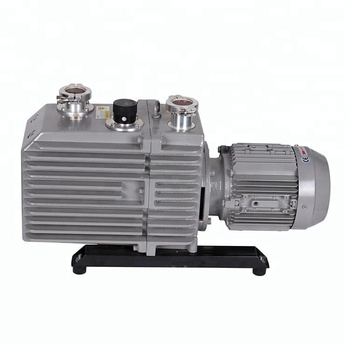 KF25 G or NPT Diameter Double Stage Rotary Vane Vacuum Pump