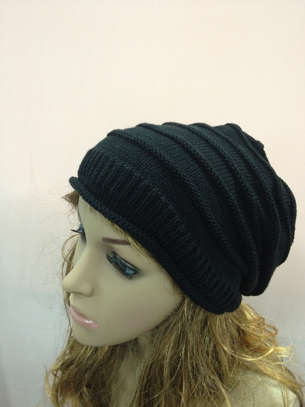 Fashion Women Warm Rageared Baggy Winter Beanie Knit Crochet Ski Hat Cap Warmer