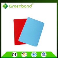 Greenbond roofing fiberglass panel aluminum composite panel