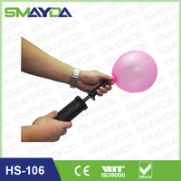factory supply Party Balloon Hand Pump, hand inflator