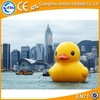 Giant inflatable promotion duck yellow inflatable swim cartoon rubber duck