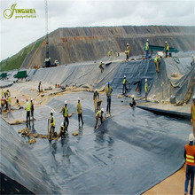 hdpe ldpe lldpe pvc eva geomembrane liner pond liner for landfill dam on sale