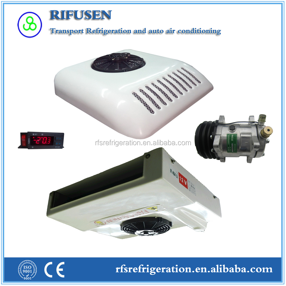 Model: R260T, Reliable quality small van refrigerator cooling system