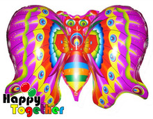HAPPY TOGETHER Factory Wholesale Good Quality Big Wings Cheap Butterfly Shaped Balloon